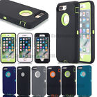 Protective Hybrid Shockproof Hard OUTTER Case Cover For iPhone 7 Plus 6 6s 5 se