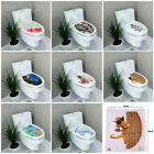 Внешний вид - 8 style DIY Removable Toilet Seat WC Bathroom Art Home Decals Decor Wall Sticker
