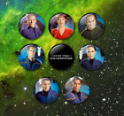 Star Trek Enterprise style 38mm Badges & Fridge Magnet set Cult TV Enterprise on eBay