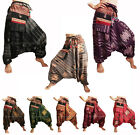 Harem Pants Men / Women Gypsy Hippie Patterned Hmong Genie Hammer Baggy Trousers