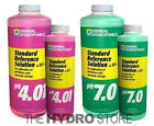 General Hydroponics pH 4.01 & pH 7.0 Calibration Solutions -meter buffer