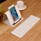Wireless Bluetooth Keyboard For Folding Portable Tablet iPhone IOS Android