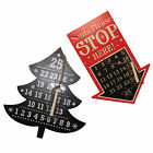 Anker Blackboard Days to Christmas Countdown Plaque - Tree or Arrow