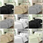 Hamlet Striped Duvet Quilt Cover Bedding Set With Pillow Cases All Sizes