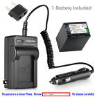 Kastar Battery and Normal Charger Kit for Sony NP-FH100 D...