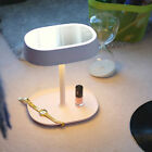 LED Cosmetic Makeup Mirror USB Rechargable Lamp Stand Mirror Table Lamp For Home