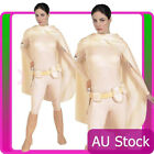 Ladies Star Wars Padme Amidala Costume Deluxe Licensed Halloween Fancy Dress $74.76 AUD