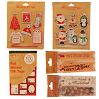 Assorted Christmas Gift / Present Tags - Various Designs