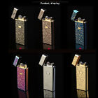 Electronic USB cigarette lighter windproof Metal arc lighters Christmas gift