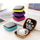 Portable Earphone Bag Coin Purse Headphone Case Cable Storage Box