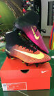 NIKE SCARPE SHOES CALCIO MERCURIAL SUPERFLY V SG-PRO CALZA SOCKS 2016/2017 ROSSA