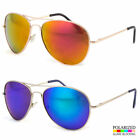 Oversized Extra Large Aviator Polarized Sunglasses Silver Mi