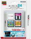 NEW Nintendo 3DS official licensed products Card Case 24 White japan White