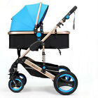 Luxury Baby Stroller Pushchairs Four Wheel Travel Folding Baby Carriage Pram HOT