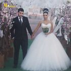 New Sweetheart White/Ivory Bridal Gown Wedding Dress Stock Size:6/8/10/12/14/16