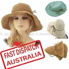 Portable Foldable Travel Crochet Big Brim Floppy Cloche Bucket Beach Sun Hat
