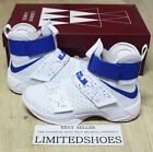 NIKE LEBRON SOLDIER X 10 WARRIORS WHITE HYPER COBALT BLUE 844374-164 ohio usa id