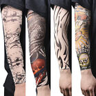 14x Nylon Fake Temporary Tattoo Sleeve Arm Stockings Tatoo For Men Women Pop