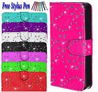 Diamond Bling Magnetic Flip Wallet Leather Case Cover For Samsung Galaxy S7 Edge