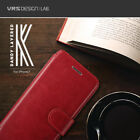 Verus Dandy Layer Leather Card Wallet Diary Cover For Apple iPhone 7 7 Plus Case