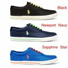 Polo Ralph Lauren Men's VAUGHN -SK-VLC Mesh Sneaker Shoes