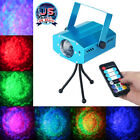 RGB LED Water Wave Ripple Effect Projector Auto DJ Music Party Stage Laser Light