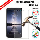 9H Explosion Proof HD Tempered Glass Screen Protector Film For ZTE ZMax Pro Z981