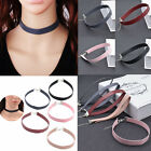 Charm Retro Women Lady Leather Choker Gothic Punk Collar Necklace Chain Gift