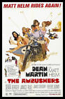 The Ambushers FRIDGE MAGNET 6x8 Dean Martin Magnetic Movie Poster