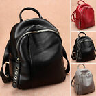 Women's Small Genuine Leather Backpack Rucksack Daypack Purse Cute bag Travel