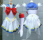 Kids Girls Sailor moon Dress Serena Usagi Tsukino Cosplay Costume Mini Xmas Gift