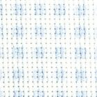 14ct DMC Impressions aida Blue Check Aida for Cross Stitch-74 x 25 & 74 x 50 cm