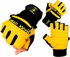 Maxx Gel Weight Lifting Body Building Gloves Gym Straps Bar Training Leather GYM