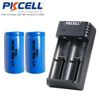 2x IMR18350 700mAh 3.7V Li-ion Rechargeable Battery Flat Top & Smart Charger