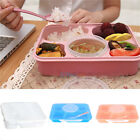 Practical Microwave Bento Lunch Box Spoon Home Canteen Dinner For Kids Children