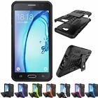 Hybrid Shockproof Heavy Duty Stand Case For Samsung Galaxy J7 Prime / On7 2016