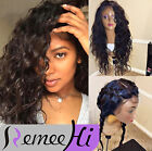 7A Deep Curly 100% Brazilian remy human hair full lace wigs/lace front wigs