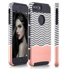 For iPhone 6 6S 7 Plus Slim Hybrid Shockproof Case Hard & Soft Heavy Duty Cover