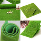 1X Artificial Grass Fake Lawn Simulation Miniature Garden Ornament Dollhouse New