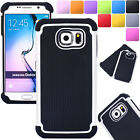 Shockproof Hybrid Rubber Protective Hard Case Cover For Samsung Galaxy S5 S4 S3