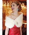 Winter Wedding Jackets Women Coat Fur Stole Wedding Accessories Evening Jacket