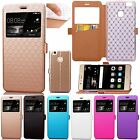 Flip Leather Wallet View Window Kickstand Case Cover For Huawei Ascend P9 Lite