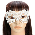 4 Pcs Women White Lace Eyes Mask Set for Halloween Masquerade Party Fancy