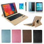 """360 Bluetooth Keyboard Leather Case For Samsung Galaxy Tab S2 9.7"""" T810 T815"""