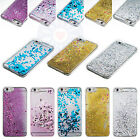 Glitter Stars Dynamic Bling Liquid Quicksand Hard Clear Case Cover For Phones #C