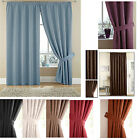 Suzy+Faux+Suede+Pencil+Pleat+Lined+Curtains+%28Pair+of%29+-+Choice+of+Colours+%26+Size