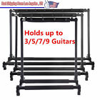 Guitar Stand 9 7 5 3 Holder Guitar Folding Stand Rack Band Stage Bass Acoustic L