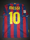 2009-2010 Nike Authentic FC Barcelona FCB Jersey Shirt Lionel Messi Argentina