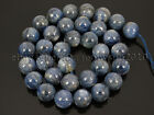 Natural Kyanite Gemstone Round Loose Spacer Beads 15