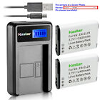Kastar Battery and LCD Slim USB Charger for Nikon EN-EL23 Coolpix P600 S810 P900